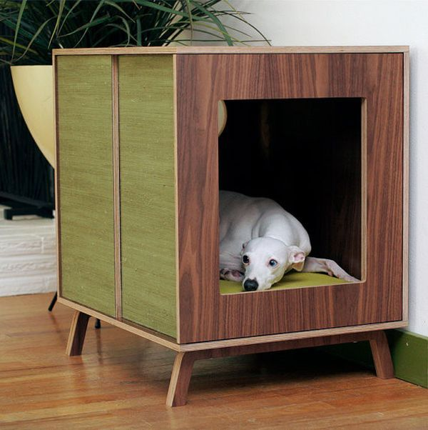 Stylish Dog Houses For Pampered Pooches Modern Dog Indoor Dog House Dog Furniture