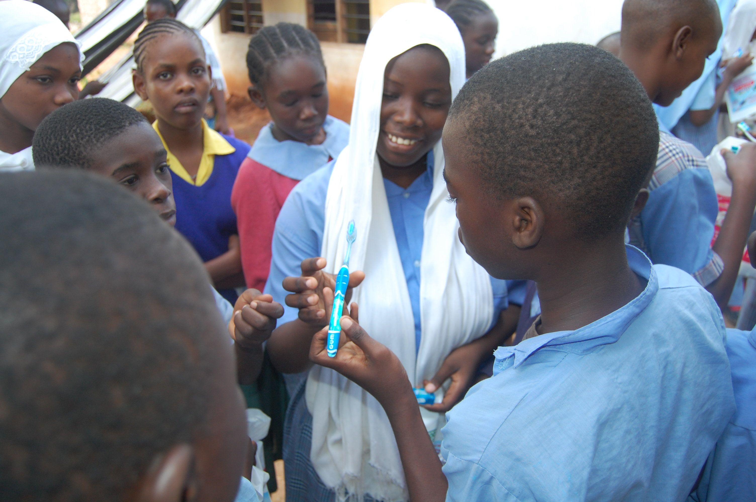 Volunteer in Kenya Kenya, Volunteer, High school project