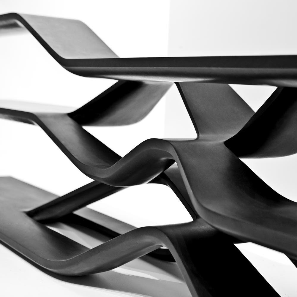 Tela Shelving For Citco By Zaha Hadid Architects Furniture  # Muebles De Zaha Hadid