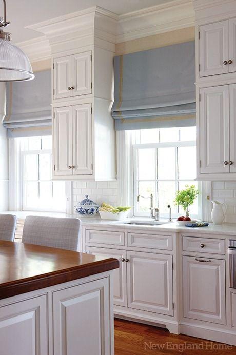6 Ways To Dress A Kitchen Window Centsational Style Modern Kitchen Curtains Modern Kitchen Kitchen Window Treatments