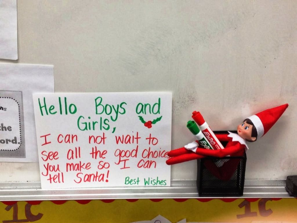 Elves On Shelves In No Excuses Schools
