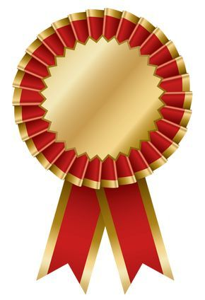 red and gold transparent rosette ribbon png clipart cliparts rh pinterest com ribbons clip art 1st, 2nd and 3rd place ribbon clip art free download