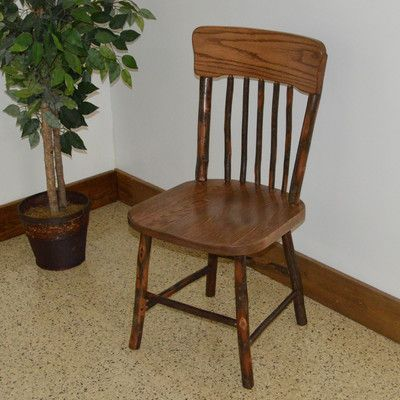 A&L Furniture Hickory Side Chair Finish: Walnut