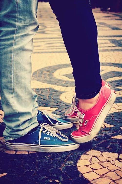 Paar küssen süß