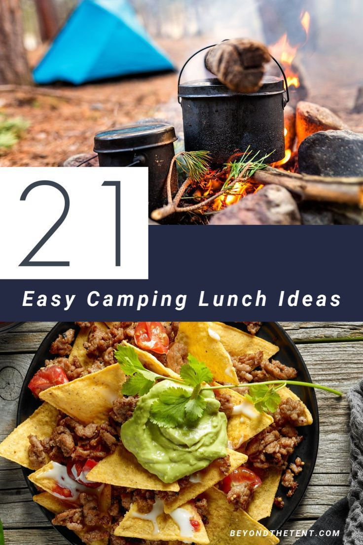 21 easy camping lunch ideas that make you go yum in 2020