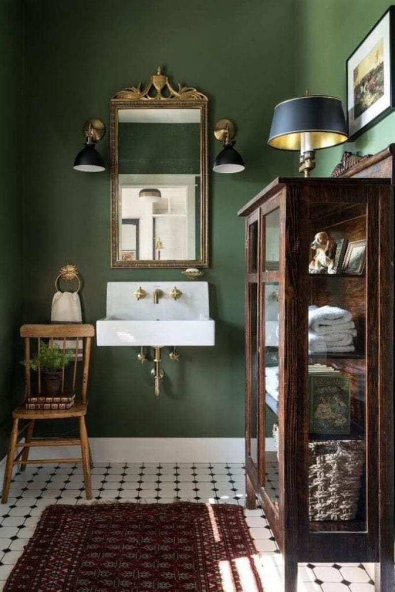 Photo of 40 Ways to Decorate with Antique Furniture in the Bathroom – The Glam Pad