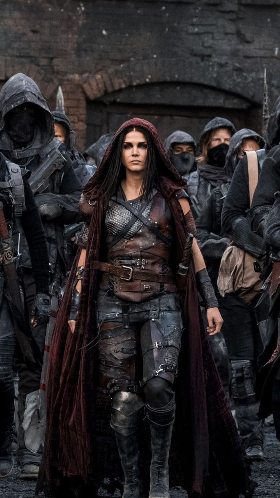 8. Marie Avegropoulos in The 100
