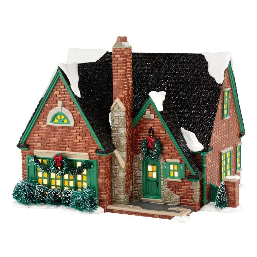 Title: Stratford Introduction: January 2014 Item Number: 4036566 Materials: UL Cord, Sisal, Dolomite Dimensions: 7.68 in H x 8.27 in W x 9.84 in L Weight: 4.05 lb Welcome to The Original Snow Village