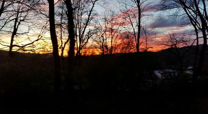 SUNSET IN BLUEFIELD, WV