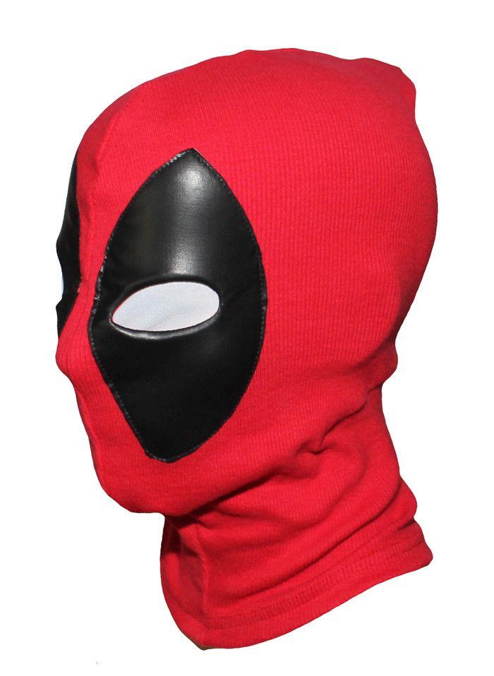 Cool nuevos Marvel Superhero Deadpool Máscara Transpirable Tela de ...