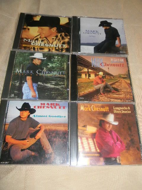 Lot of SIX Mint Mark Chesnutt Cd's Complete! Non Smoking USA Seller!