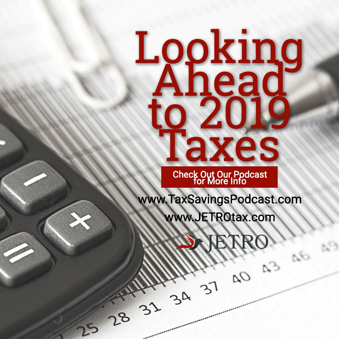 Tax law changes for 2019