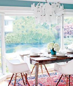 Dining - Interior: West coast living space