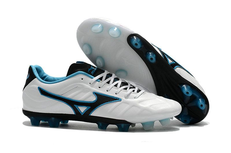 best website ac5bb 88c52 Men Mizuno Rebula V1 Made IN 2018 Word Cup Japan MD FG 2018 Word Cup White  Black Blue