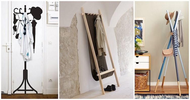 15 Unique Coat Racks That Merit Attention