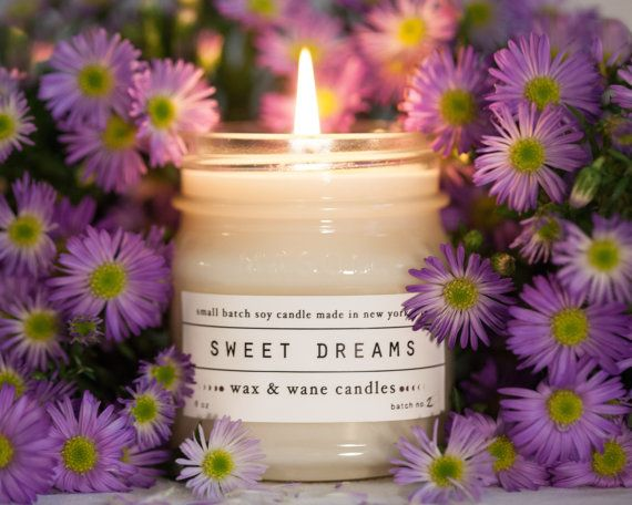 Sweet Dreams - Lavender Scented Soy Candle - Baby Gift