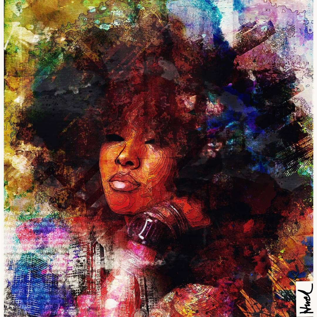 Exquisite-blackness Le Huck Badu Instagram Art
