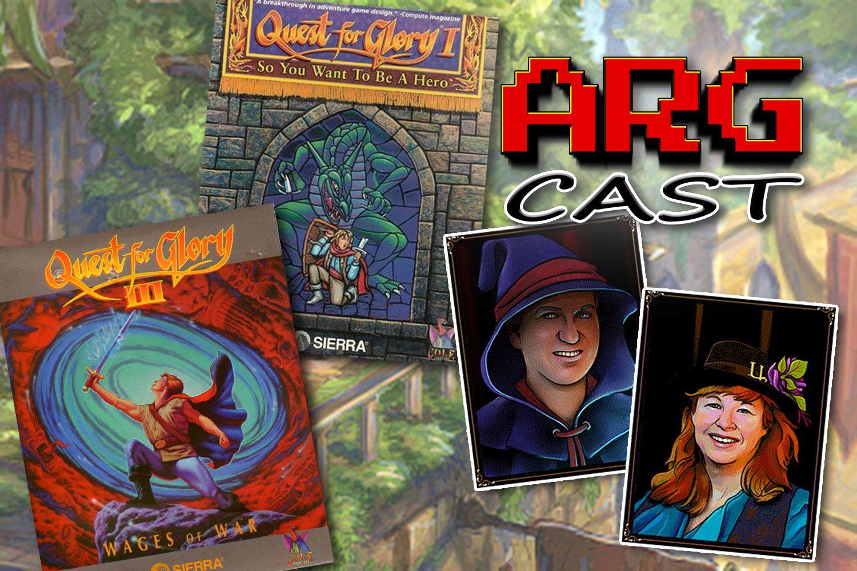 ARGcast Mini 38 Adventuring in Quest for Glory w/ Corey