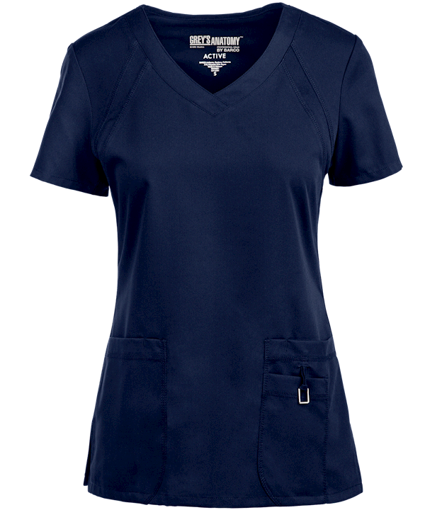 38cd1ffe66a GA41447 Greys Anatomy Scrubs, Medical Scrubs, Scrub Tops, V Neck, Knitting,