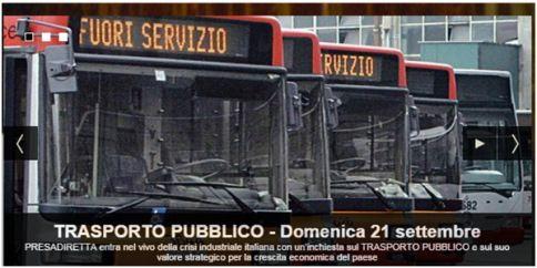 Informazione Contro!: Presadiretta del 21/09/2014 – Trasporto Pubblico –...