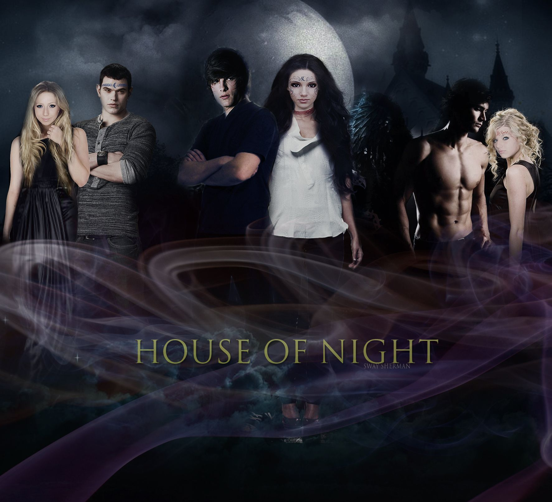 The House of Night Series by PC and Kristin Cast | The House Of ...