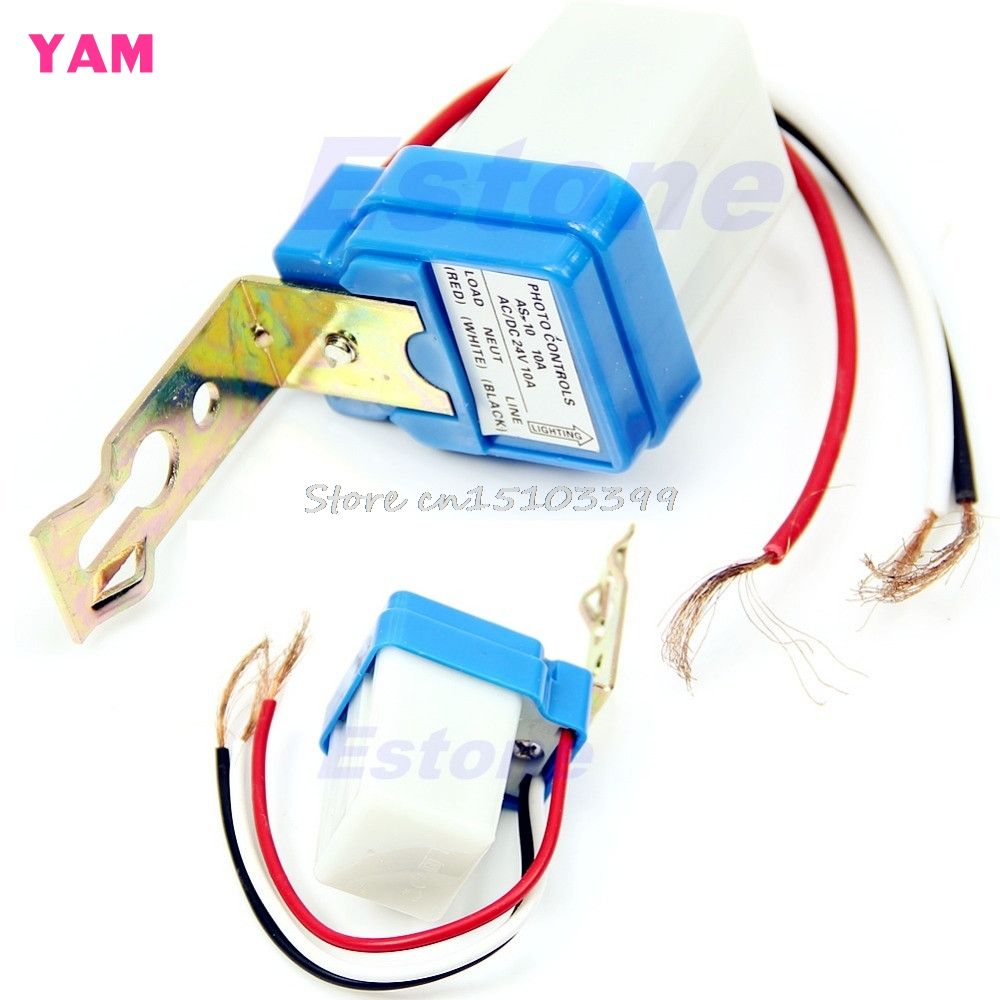 Sensor Switch Ac Dc 24v 10a Auto On Off Photocell Street Light Switches Electrical Wiring And Lights Pinterest Photoswitch G205m
