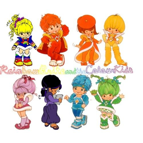Rainbow Brite and the Colour Kids | Rainbow brite, Rainbows and ...