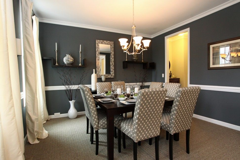 modern dining room color schemes. 500 Dining Room Decor Ideas For 2018  Oval Dining Tables Dark Wood And