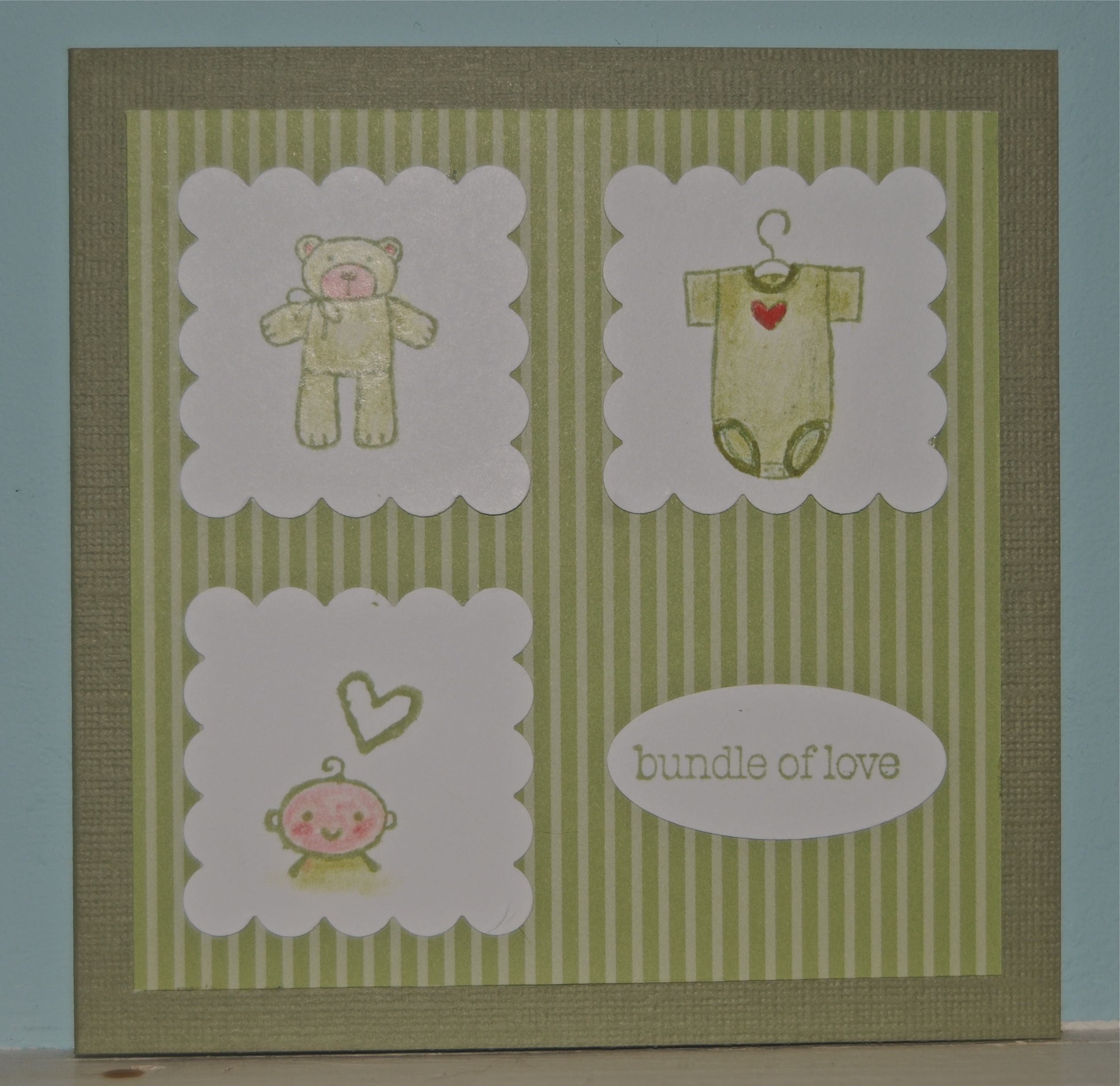 Card Making Ideas Stampin Up Part - 20: Stampin Up Baby Bundle Pinterest | Baby Bundle Of Love Cardu2026 ::  LakesideStamper.