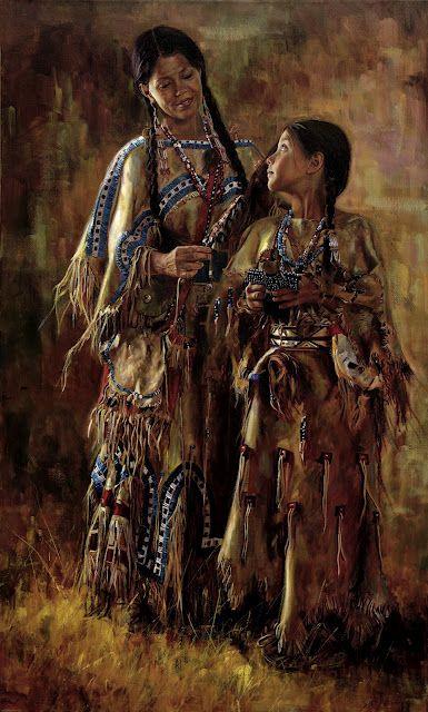 "Native American Art ""Shoshone Dolls"" by Jeremy Winborg"