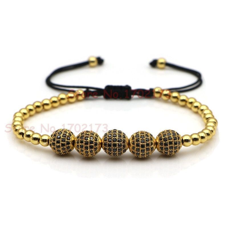 Bracelet - High Quality Shamballa Style Bracelet