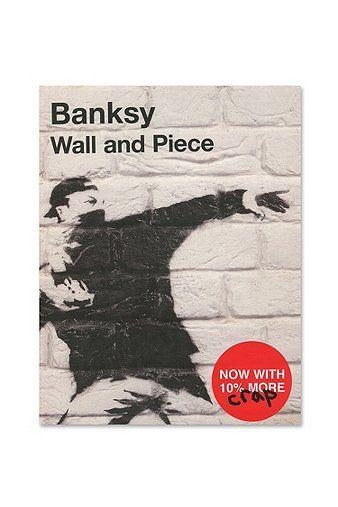Livre Banksy: Wall & Piece