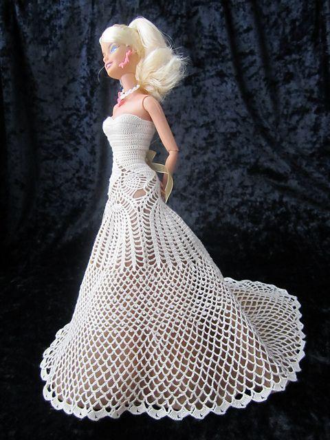 #crochetedbarbiedollclothes