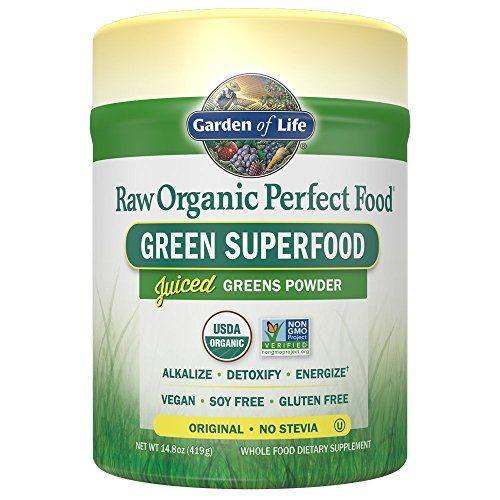 Garden Of Life Vegan Green Superfood Powder Raw Organic Perfect Whole Food Dietary Supplement Original 148o Green Superfood Green Superfood Powder Raw Organic