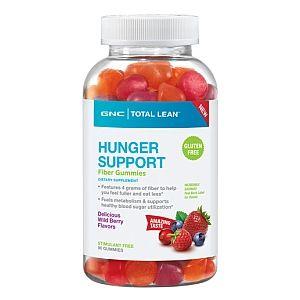 Gnc Total Lean 8482 Hunger Support Fiber Gummies Delicious