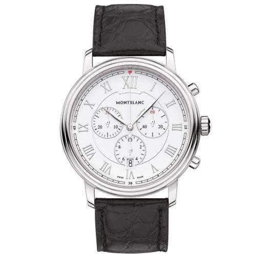 021aaf0e54b Relógio Montblanc Masculino Couro Preto - 114339