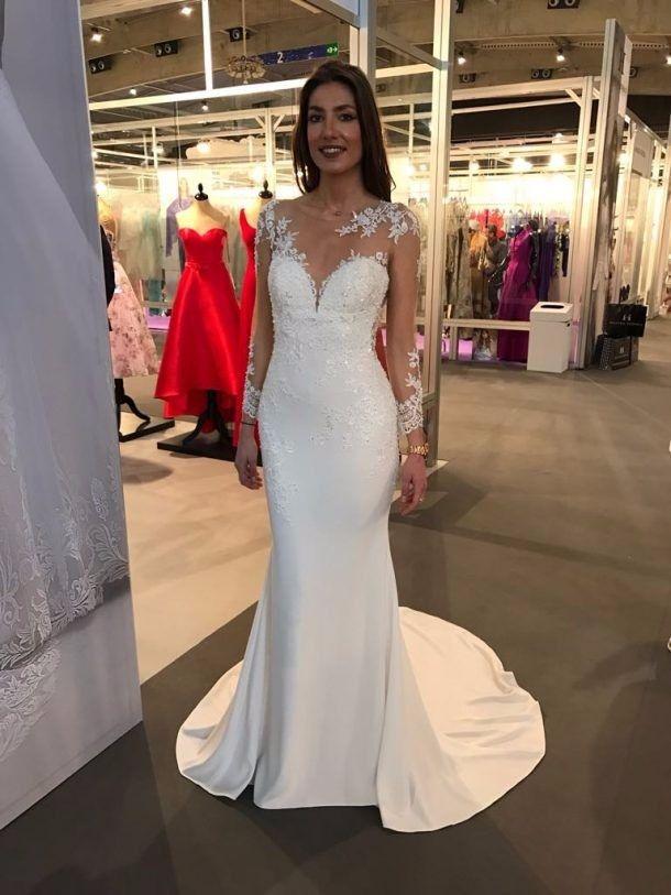 5 Tendencias em vestido de noiva 2018 #noivadiva 4   vestido de ...