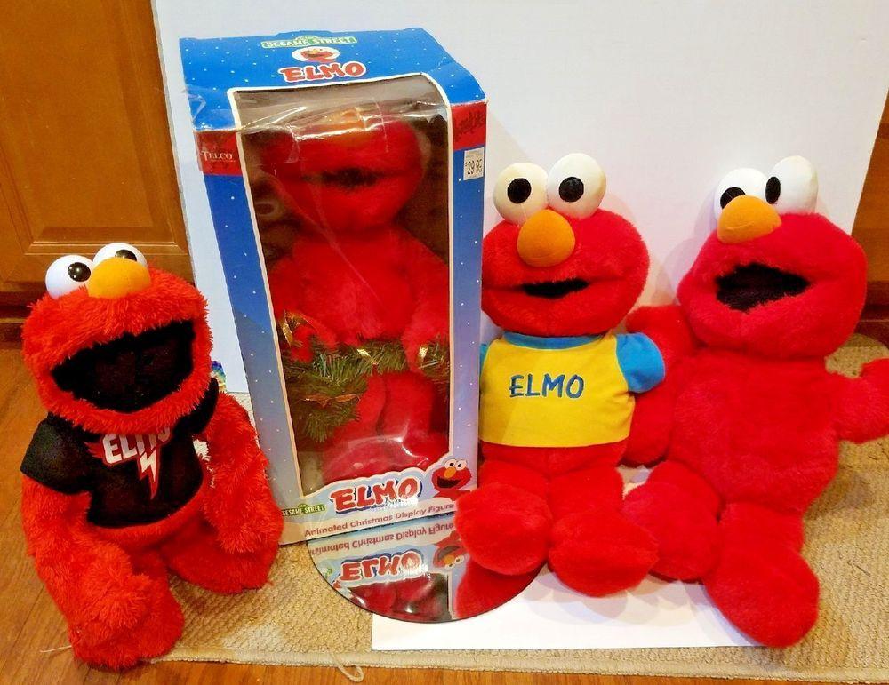 bbb010907c8 Bulk Electronic Dancing ELMO Lot - Sesame Street Toy TYCO VTG tickle me elmo   Tyco