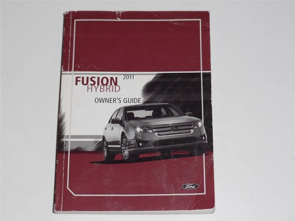 2011 ford fusion hybrid owners manual book owners manuals pinterest rh pinterest com 2011 Ford Fusion Bumper Cover 2011 Ford Fusion Bumper Cover