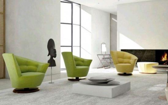 designermobel ideen monica armani, der arabella designer drehstuhl aus plüsch von giorgetti | designers, Möbel ideen