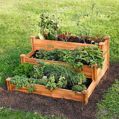Etagen Hochbeet Hochbeete Hochbeet Pflanzideen Garten
