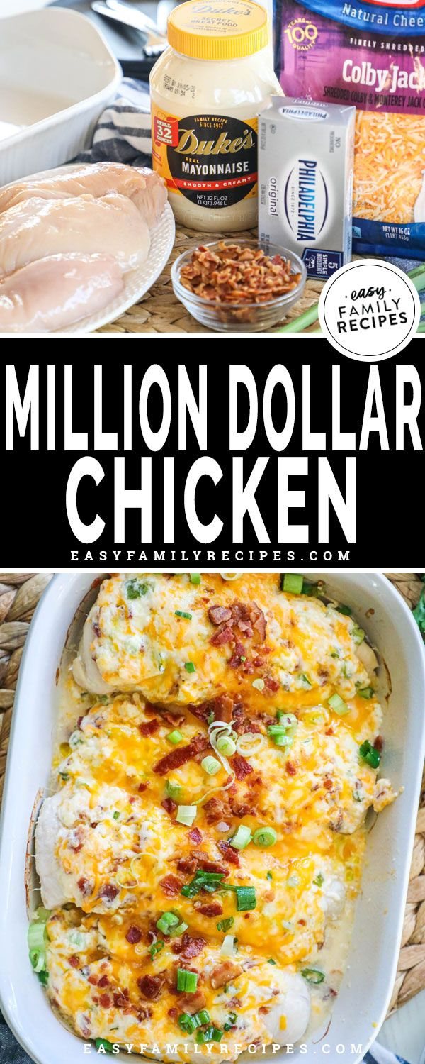 Million Dollar Chicken Bake · Easy Family Recipes