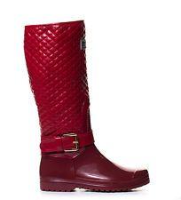 Mustang Botas de agua Nora granate | Botas de lluvia