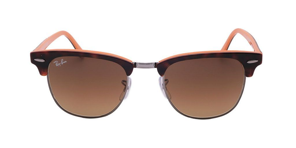 ray ban clubmaster color mix gradient