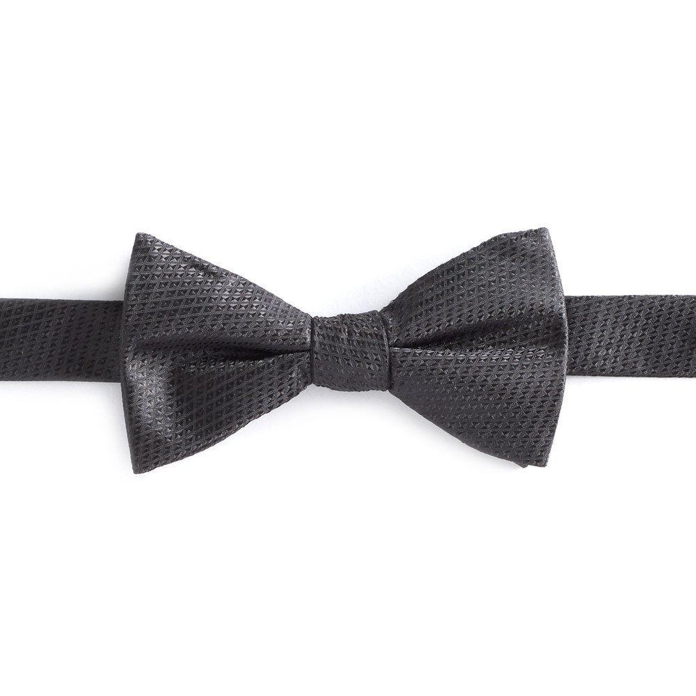 Men's Bow Tie Tuesday Novelty Pre-Tied Bow Tie, Black