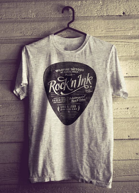 30 Cool T-shirt Designs Inspiration « Indieground Graphic Design ...