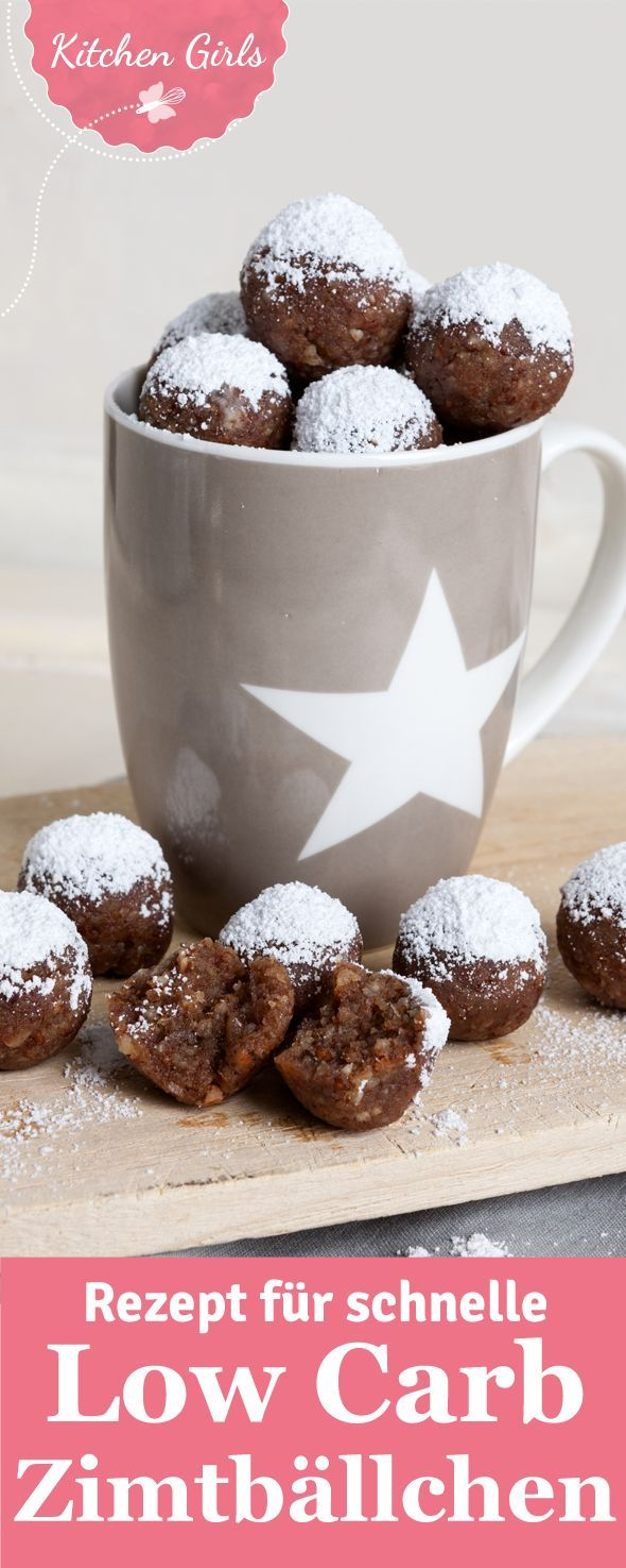 Photo of Recipe for quick low carb cinnamon balls