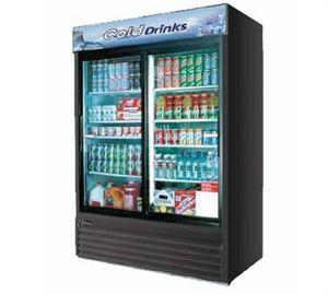 Turbo Air Refrigerator Cooler Merchandiser Sliding Glass Door