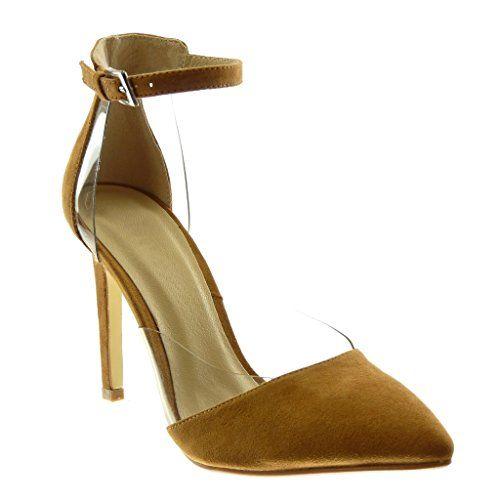 Chaussure lanière Angkorly Stiletto Escarpin Sandale Mode A35jqRLc4