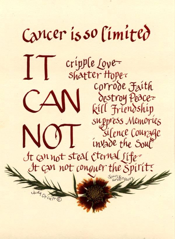 Cancer Survivor S Poem A Very Meaningful Poem Artfully